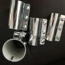 現貨供料系統管夾不銹鋼硅膠管夾圖片