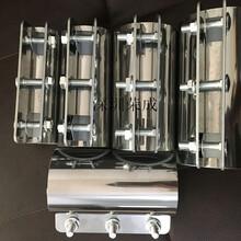 遼寧不銹鋼管夾供料管道連接器卡箍緊固件圖片