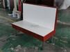 興賓區鋼木粉面店卡座沙發定制快餐廳家具