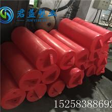 浙江訂制聚乙烯浮體滾塑浮筒攔污浮筒警示浮標,管道浮筒圖片