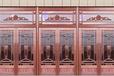 張掖酒店銅門報價/酒泉浮雕銅門設計/天水會所銅門廠家