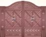 宁波别墅浮雕铜门/温州仿古铜门厂家/湖州庭院铜门价格