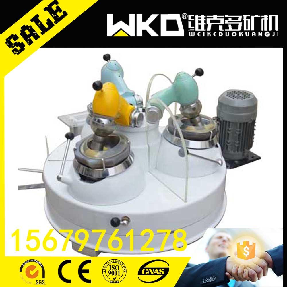 四川现供实验室XPM1203玛瑙料钵三头研磨机干法研磨机