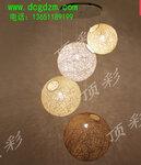 北京顶彩LED美不胜收,夜空光纤灯花巅复传统