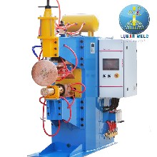 油箱端蓋自動滾焊機100KVA變頻環縫滾焊機圖片