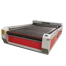 红太阳棉纸激光切割机/羽绒服冬季服装羊剪绒裁剪设备/厂家定制