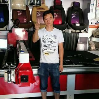 济南红太阳生产厂家销售供应全自动震动刀切割机皮革剪裁设备图片6