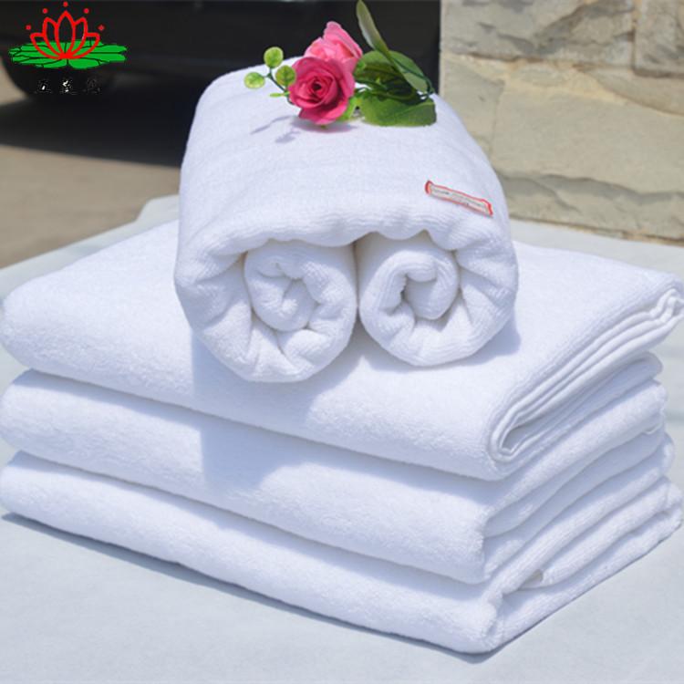 全国包邮厂家直销32线浴巾70140cm纯棉浴巾500g酒店