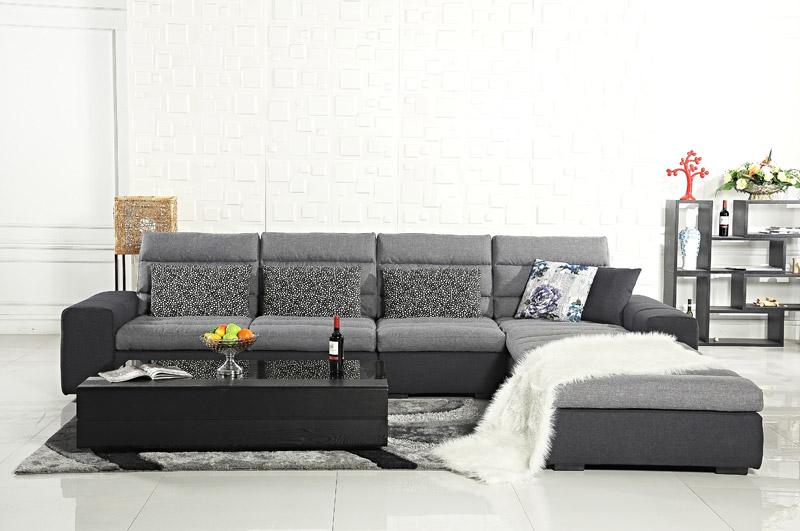 2016奥普斯新品欧式布艺沙发组合客厅实木高档欧式