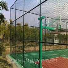赤峰市体育场围栏网,篮球场框架防护网,迅鹰体育围网货源厂家图片