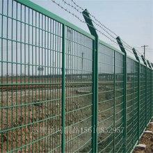 化工厂围栏网A耐腐蚀金属围栏网A常州绿色包塑围栏网生产厂家图片