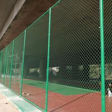 南川包塑铁丝篮球场围网厂图片