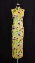 旗袍不止一面女人也一样香云纱旗袍定制纯手工缝制量身定做