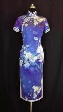 苏绣旗袍定制重磅真丝面料款式修身时尚全手工精心缝制单人单版