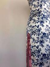 苏州手工旗袍定制加工量身定制真丝面料款式修身显瘦一件起订