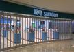 西安水晶折叠门厂家批发配件PVC折叠门安装效果