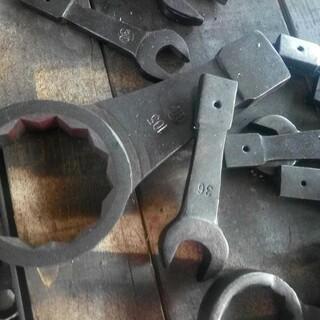 钢制梅花敲击扳手/异形加工定做锤击扳手/钢制凸型梅花扳手图片4