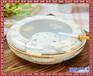 手繪陶瓷煙灰缸中式復古創意個性時尚潮流中國風客廳茶幾家用