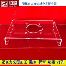 無錫有機玻璃加工防護罩恒道有機玻璃視窗加工圖片