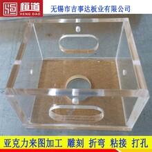 南京有機玻璃視窗防護罩恒道有機玻璃雕刻粘接按圖加工圖片