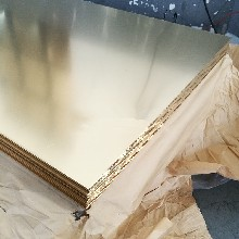 H62高精黄铜板光面环保黄铜板图片