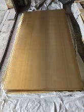 H62优游注册平台厚环保黄铜板激光切割来图来样黄铜板图片