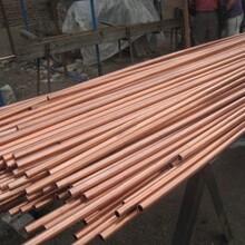T2薄壁精密紫銅管高純退火紫銅管精切圖片
