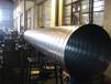 暖通空调中央空调工程系统管道镀锌螺旋风管厂家直销