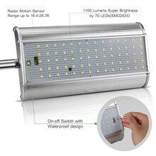 晶诺光电70灯铝合金感应灯太阳能庭院灯家庭使用热卖光伏路灯