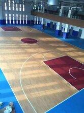 塑胶篮球场工程pvc运动地板厂家塑胶篮球场造价