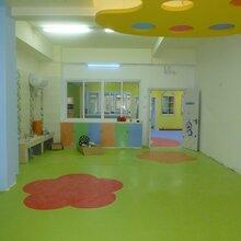 幼儿园地板胶,幼儿园轰地板胶施工,奥丽奇品牌图片