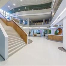 塑胶地板厂家,办公室pvc塑胶地板,olychi奥丽奇图片