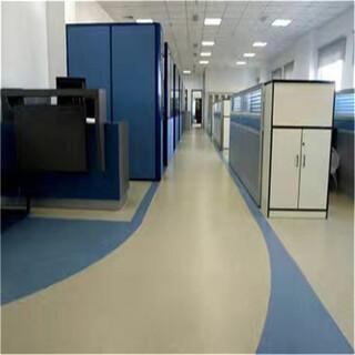 塑胶地板厂家,办公塑胶地板,olychi品牌图片2