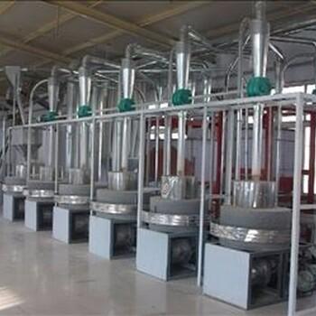 供應中科專利6FL系列皮芯全分離大型麥飯石石磨面粉機