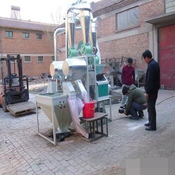 供应环保6FL系列皮芯分离型荞麦磨面机价格