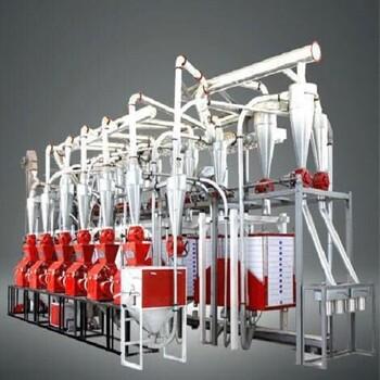 供应面向一带一路环保型6FH系列平筛麦芯精粉面粉机.