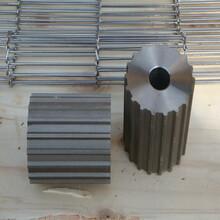 乙字型网带回流焊油炸机激光裁床机不锈钢输送带