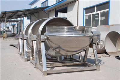 豌豆黄蒸煮夹层锅,蒸汽加热夹层锅,山楂糕夹层锅