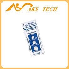 美国warmmark8度冷链温度指示器,时间温度标签