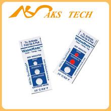 无锡温度指示标签warmmark低温监测时间温度标签