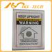 太阳能板运输防震防倾倒指示标签,单角度防倾斜标签