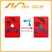防倾斜警示标签上海防倾倒标签防倒置指示标贴tip-n-tell