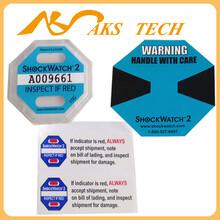辽宁沈阳运输防震动标签shockwatch2代防冲击指示标签