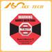 美国进口防震标签shockwatch二代红色50G防撞击显示标签