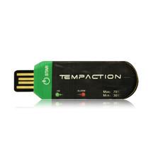 PDF一次性温度记录仪,USB冷链运输温度记录器(-30C~+70C)