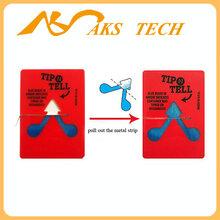 Tip-N-Tell防倾标签,人字贴,进口防倾倒标签