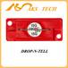 东莞防震动标签工厂drop-n-tell25G防震标识