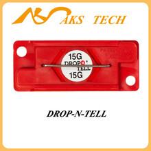 防冲击运输标签drop-n-tell15G防震标志,进口震动标贴