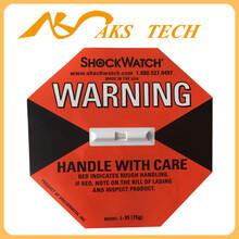 上海防震标签shockwatch75G防震动检测标贴(L-35)