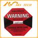 防震撞不干胶标签shockwatch红色L-47震动显示器
